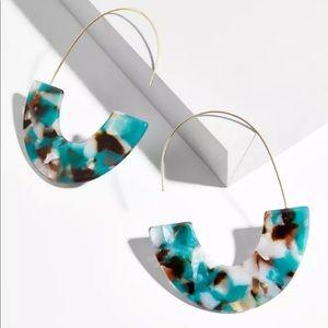Baublebar Style Faidra Resin Tortoise Earrings